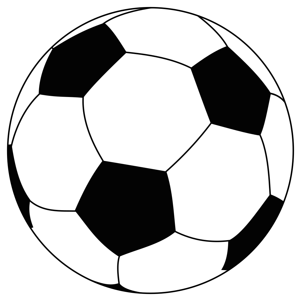 Soccerball drawing soccor. File svg wikimedia commons