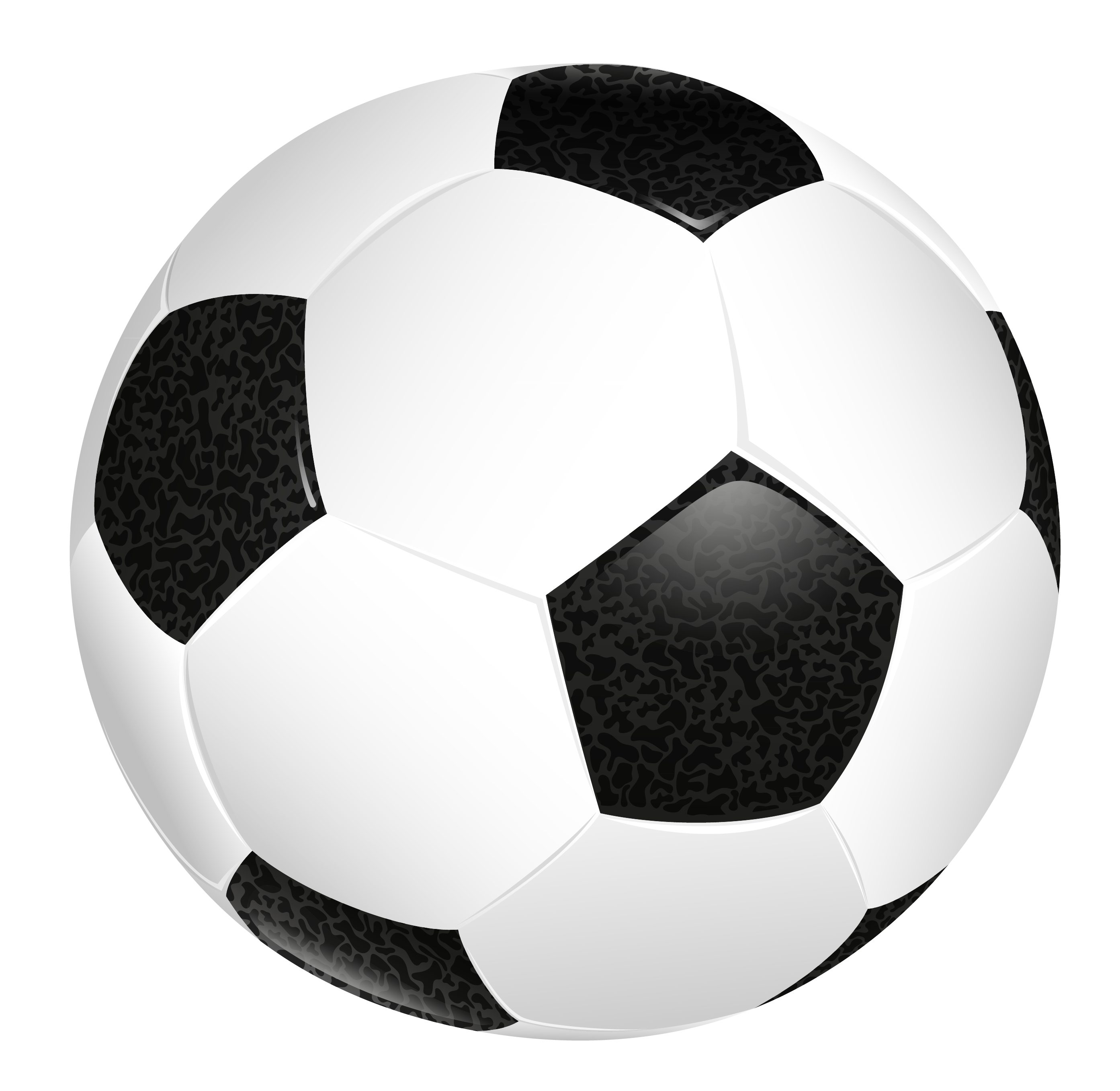Soccer ball clear background