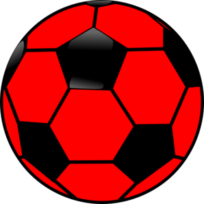 Soccer ball clipart colored. Color image