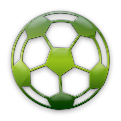 Soccer ball clipart green. Sports icons images