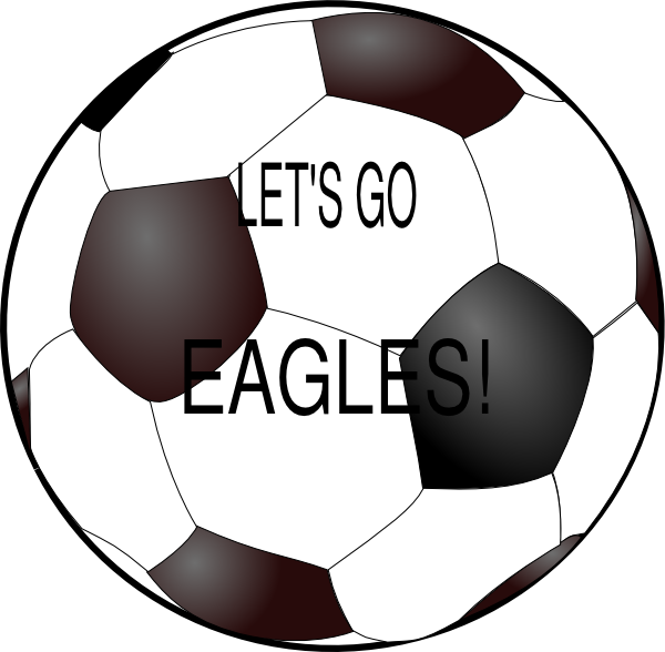 Soccer ball clipart png. Eagles clip art at