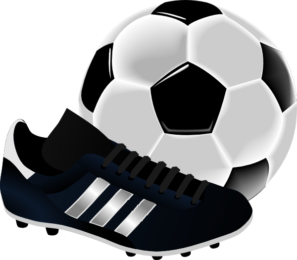 Soccer ball clipart png. And shoe clip art