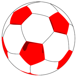 Soccer ball clipart red. Download rr collections clip