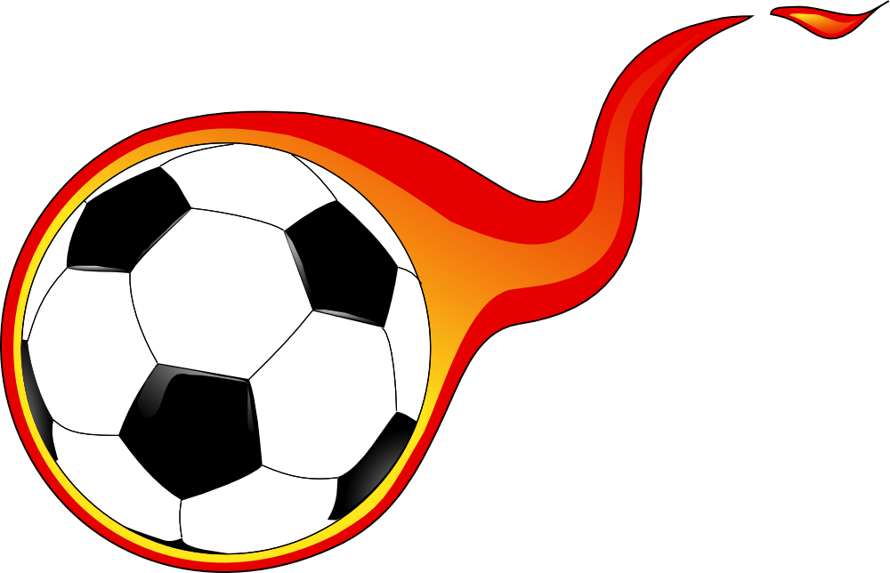Soccer ball clipart red. Free clip art rr