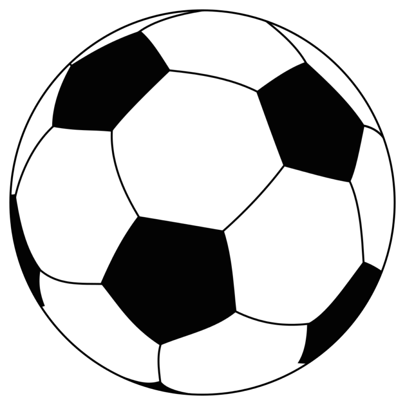 Soccer ball clipart transparent background. Football vector library no