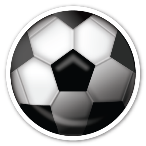 Soccer ball emoji png. Pinterest emojis and stickers