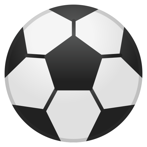 Soccer ball icon png. Noto emoji activities iconset