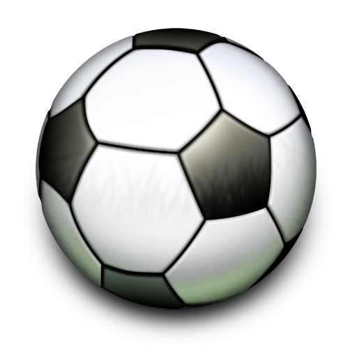 Soccer ball png file. Football icon iconset artua