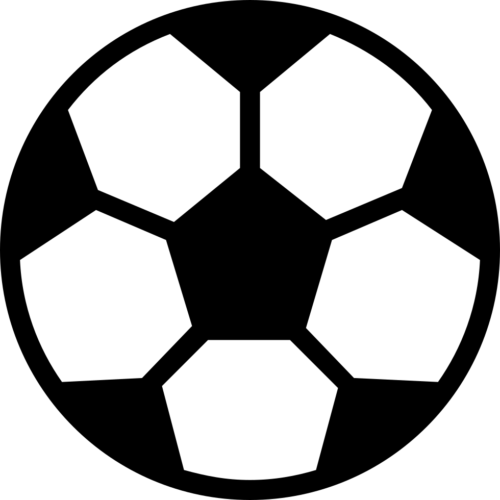 Soccer ball png icon. Svg free download onlinewebfonts