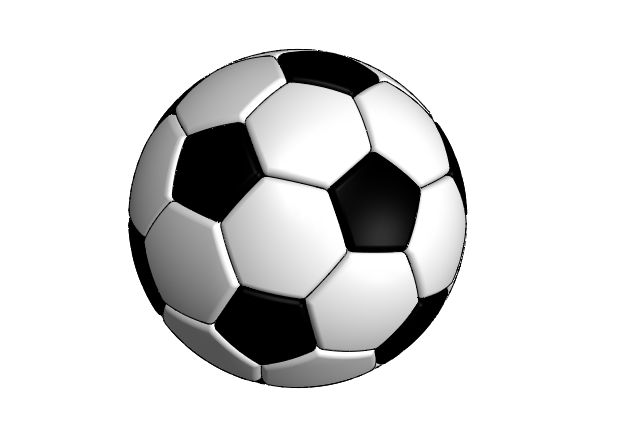Soccer ball png large. D cad model library