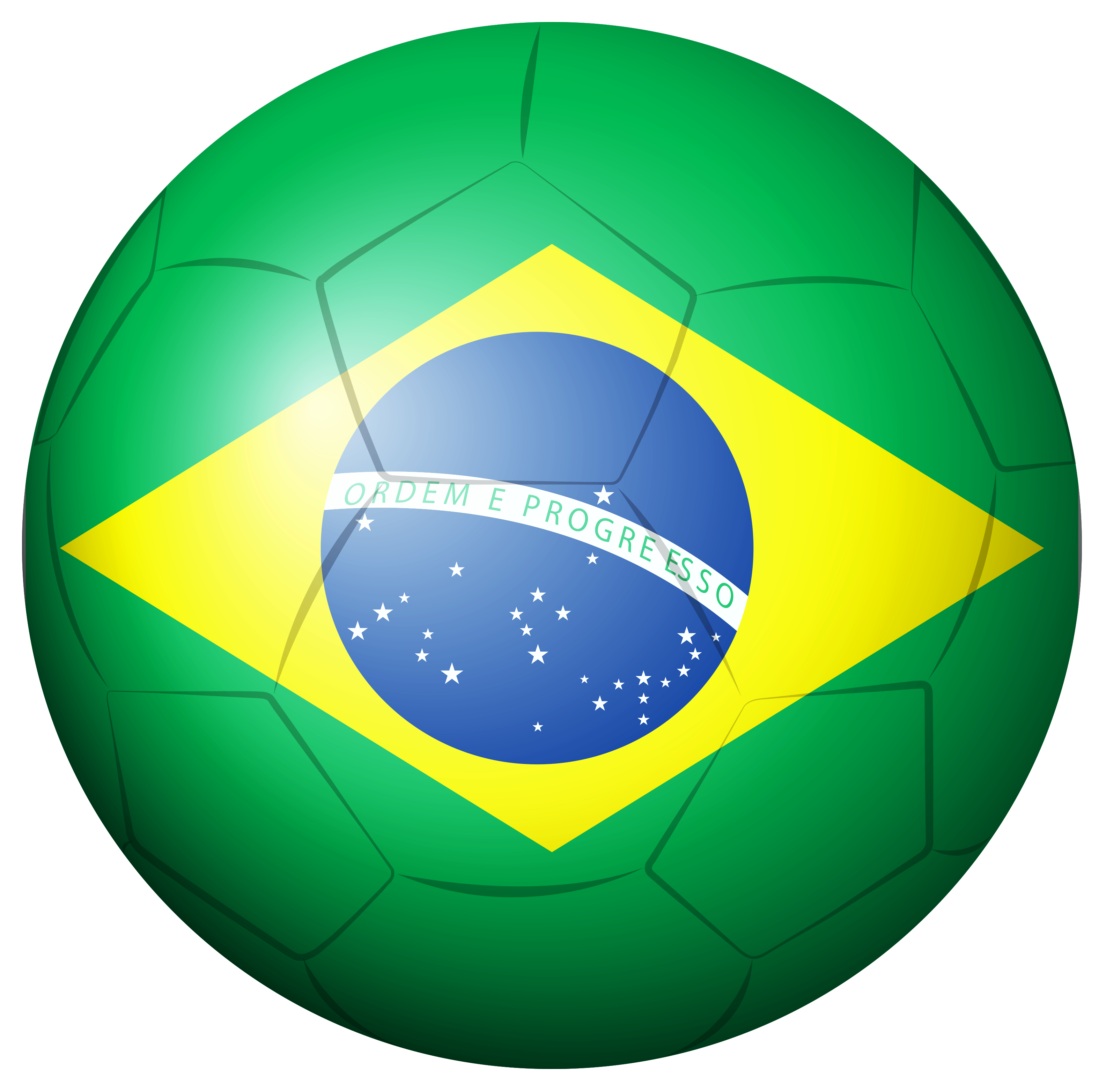 Soccer ball png transparent. Brazil clipart picture gallery