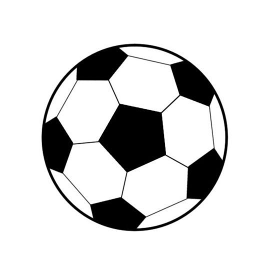 Soccer clipart. How to draw a image free