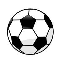 Free panda images info. Soccer clipart vector free library