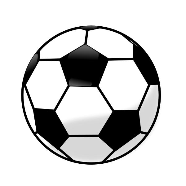 Soccer ball clipart printable.