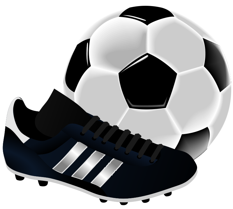 Soccer clipart. Sports theme teaching parties