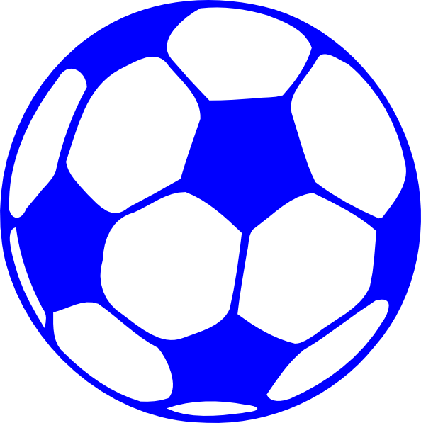Soccer clipart blue. Ball panda free images