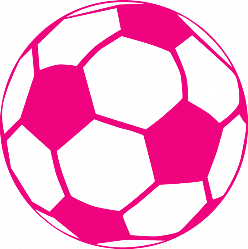 Soccer ball clipart easy. Pink panda free images