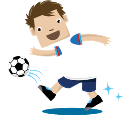 Soccer clipart child. Children playing sports health image transparent stock