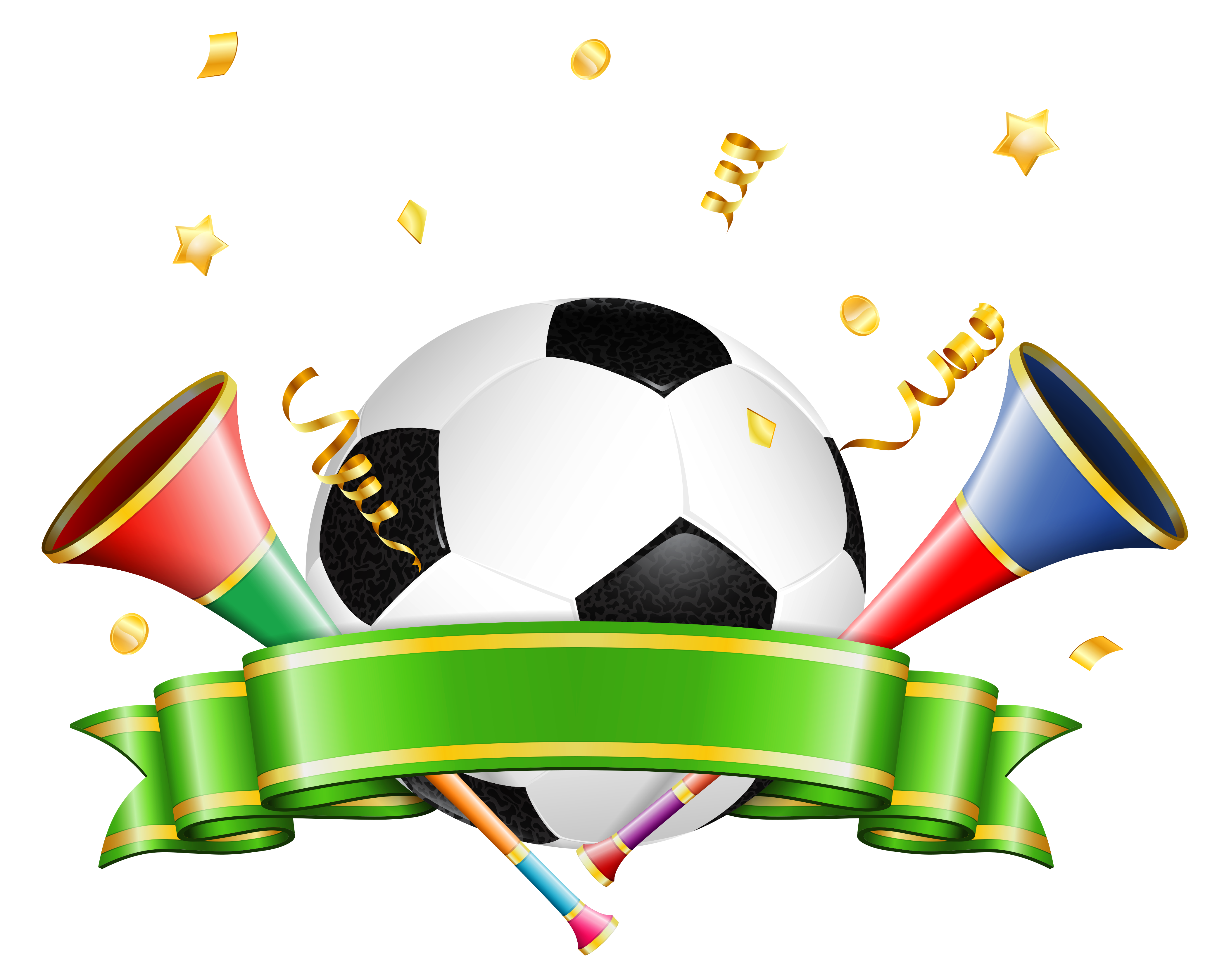 Sports clipart png. Football decoration transparent gallery