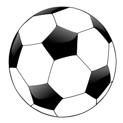Soccer clipart easy. Poem form playing with