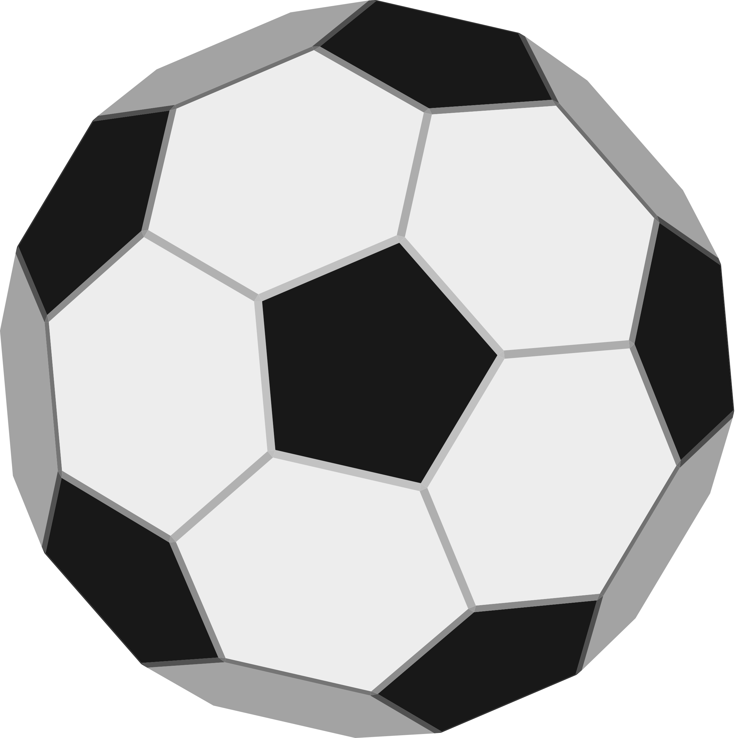 Soccer ball clipart simple. Free easy football cliparts
