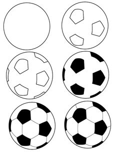 Soccer clipart easy. Football field black and