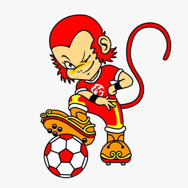 Soccer clipart monkey. Handsome png image and