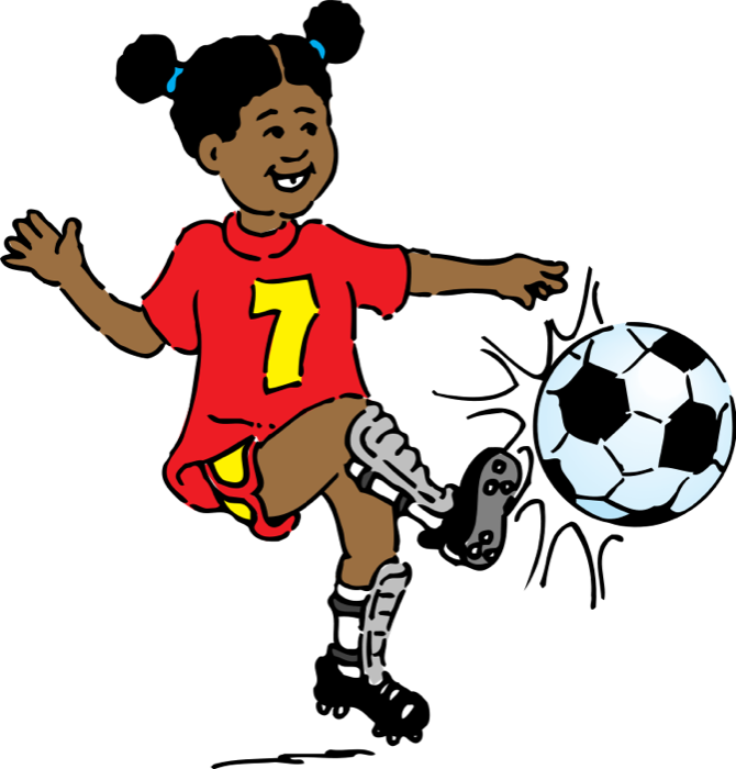 Footballer vector sport player