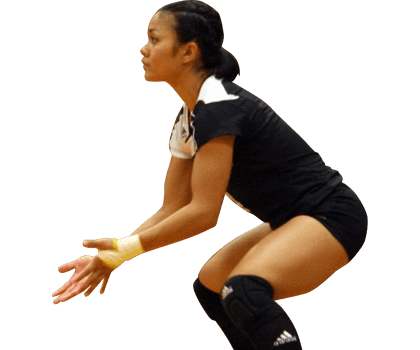 Transparent women clear background. Volleyball girl png