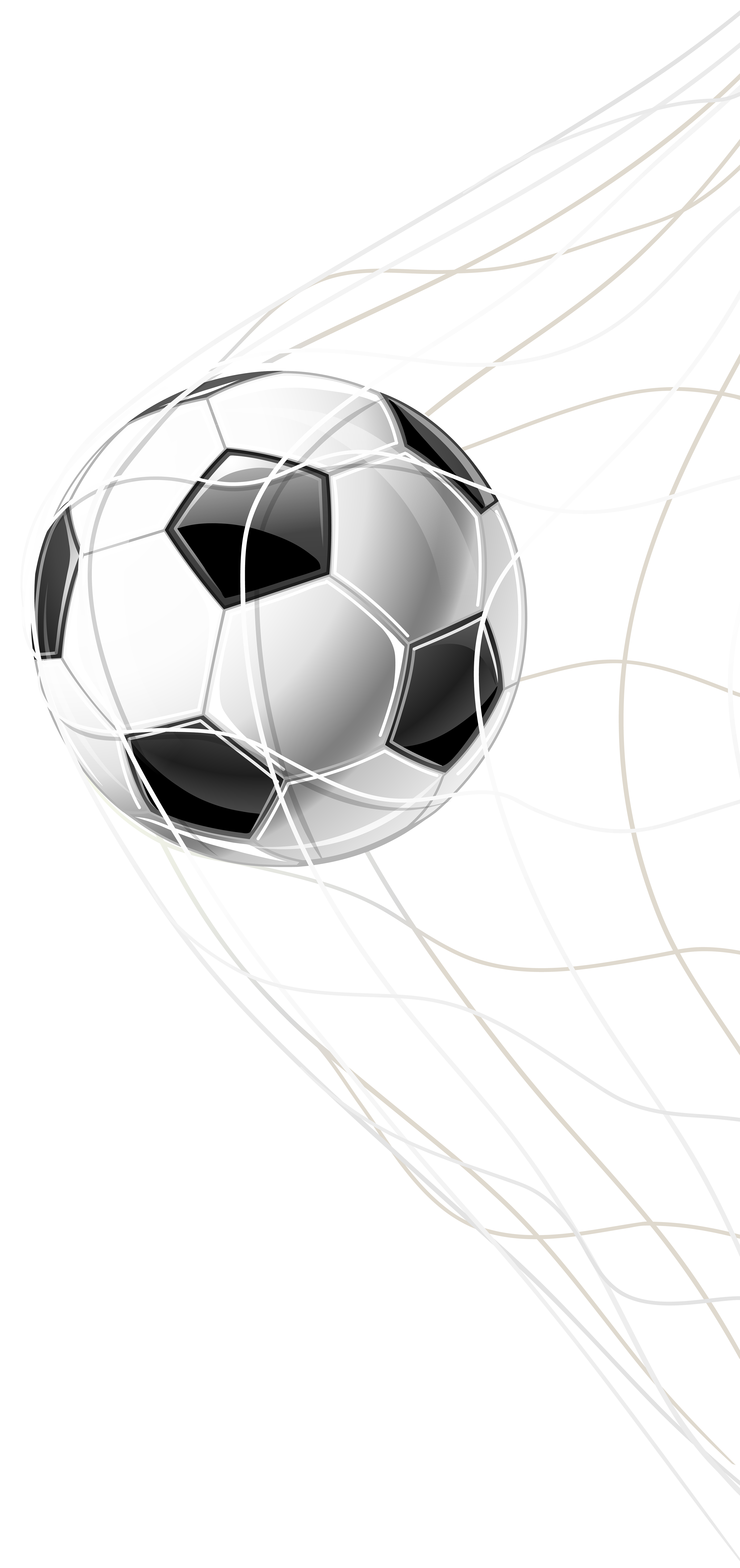 Soccer goal clipart png. In a net clip