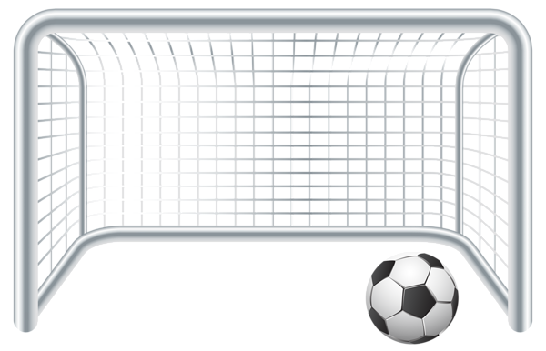 Soccer goal top png. Ball and gate clip