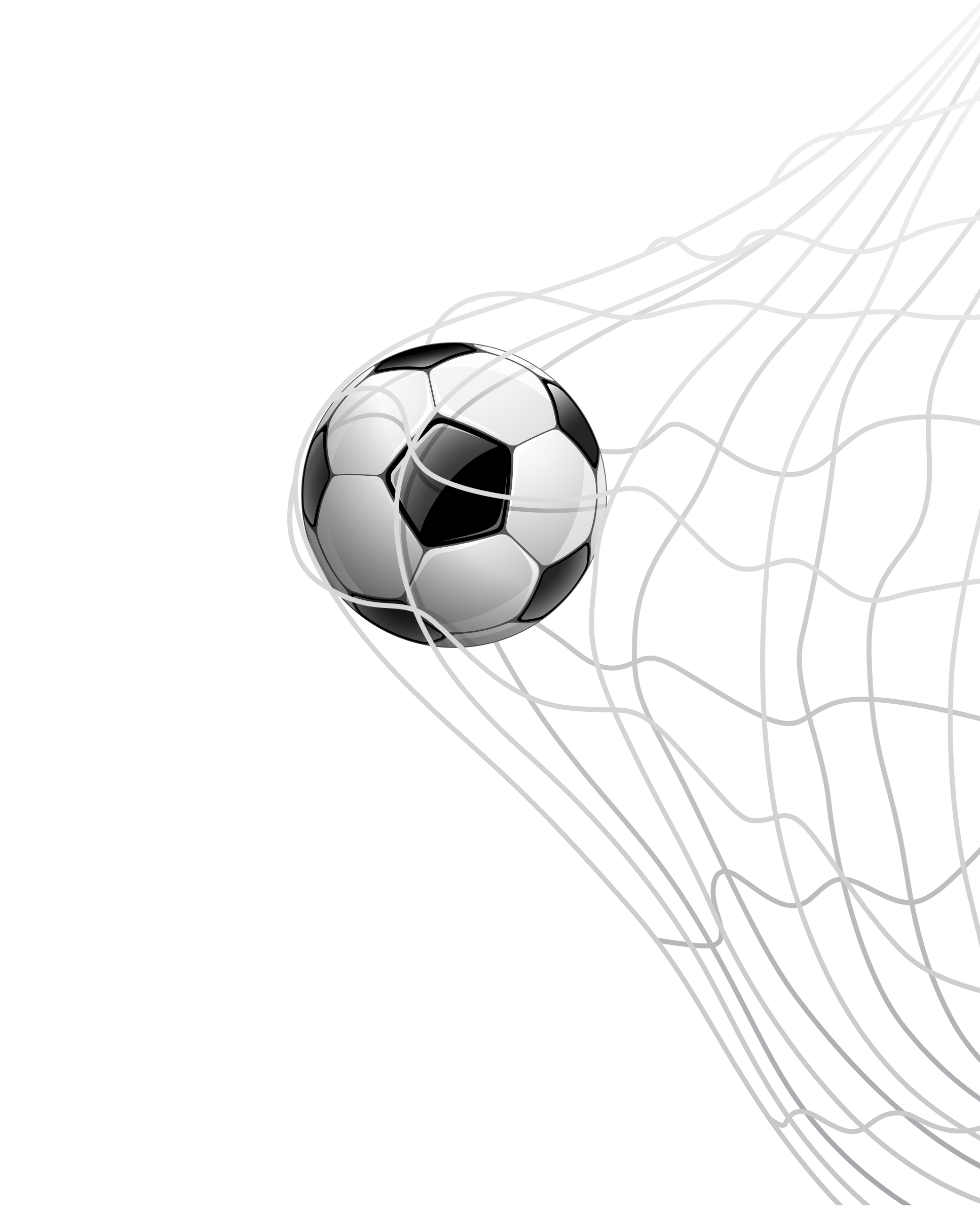 Goal vector drawn soccer. Football png images ball