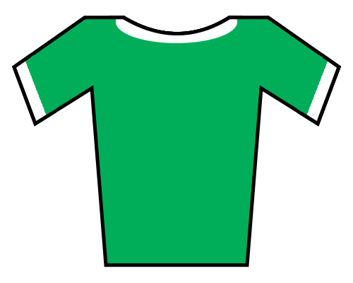 Soccer jersey png. File green white borders