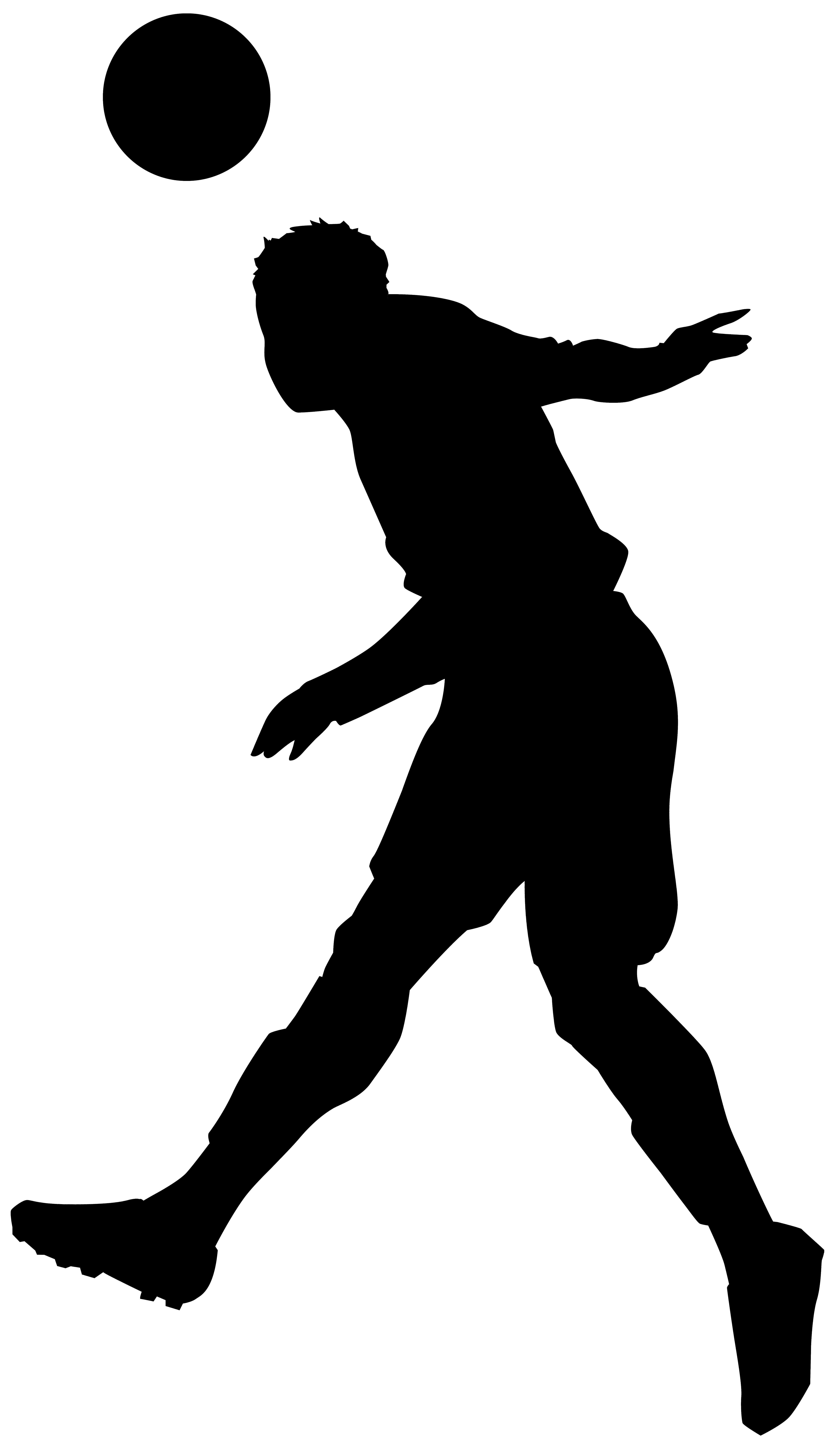 American football player silhouette png. At getdrawings com free