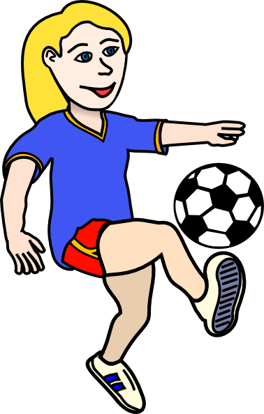 Soccer player clipart png. Girl panda free images