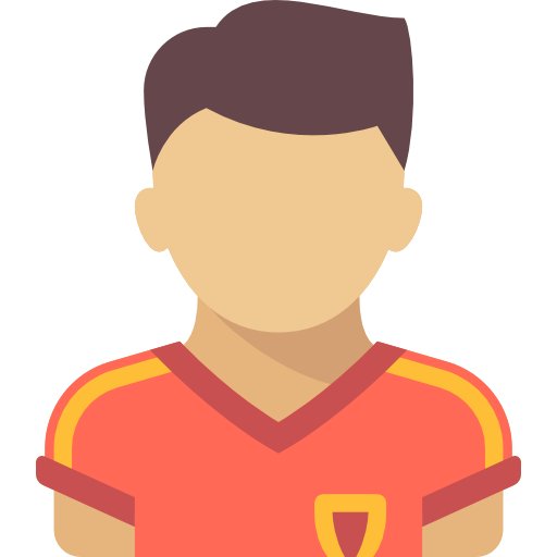 Soccer player icon png. Football free people icons
