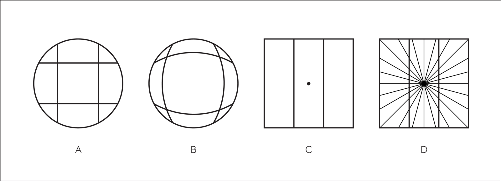 Drawing sphere optical illusion. Why humans love pie