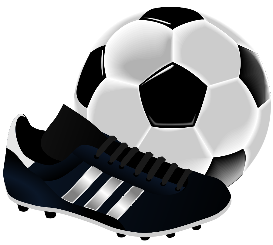 Soccerball drawing football boot nike. Soccer shoes picture