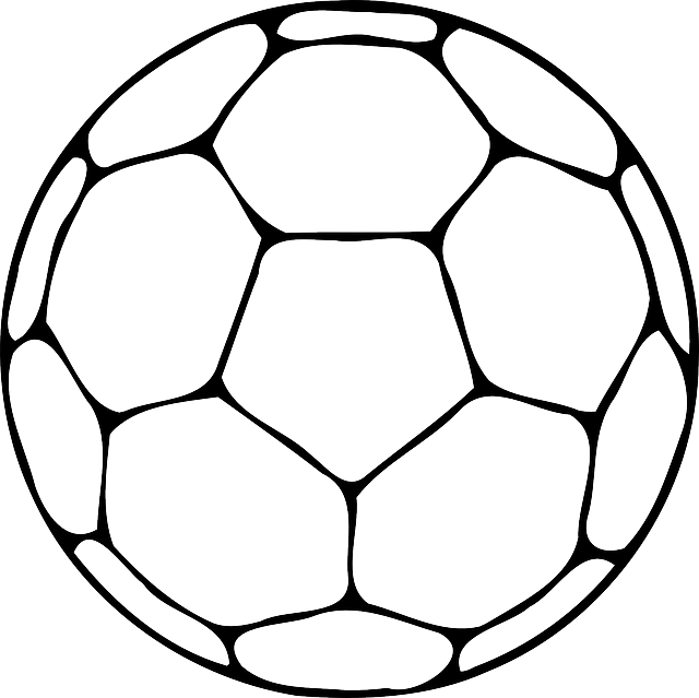 Soccerball drawing line. Balls free download on