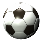 Soccerball drawing sphere. Mathematics of the soccer