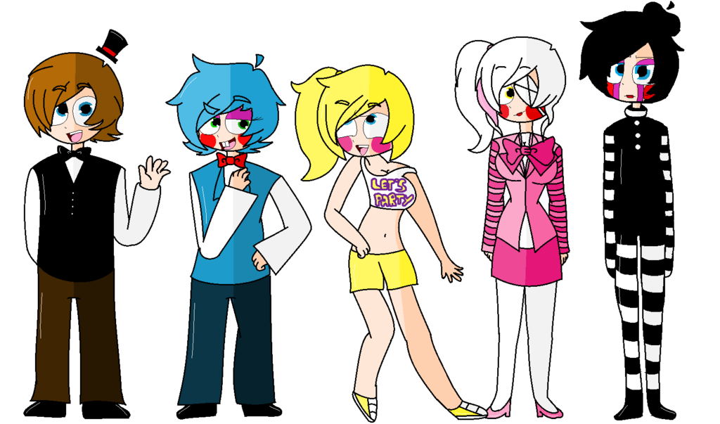 Social drawing humanized. Five nights at freddy