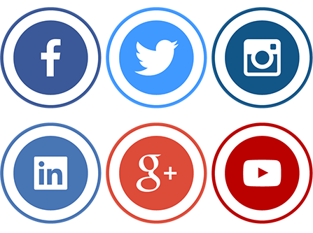 Social icons png transparent. Website design services saskatoon