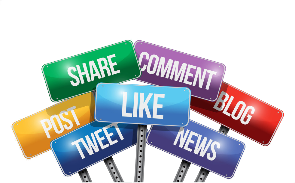 Social media background png. Get attention with marketing
