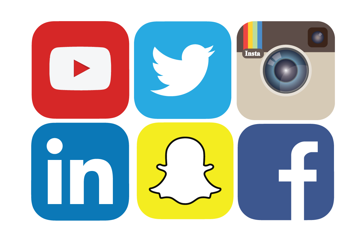Social media buttons png. Syncing facebook twitter and