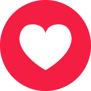 Free download social media. Facebook heart icon png banner free download