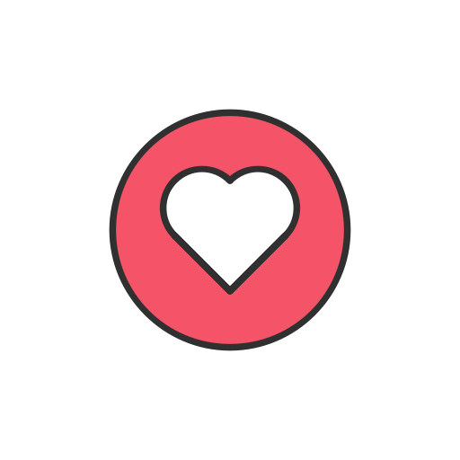 facebook heart icon png