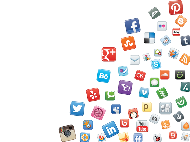 All social media logos png. Marketing and optimization tampa