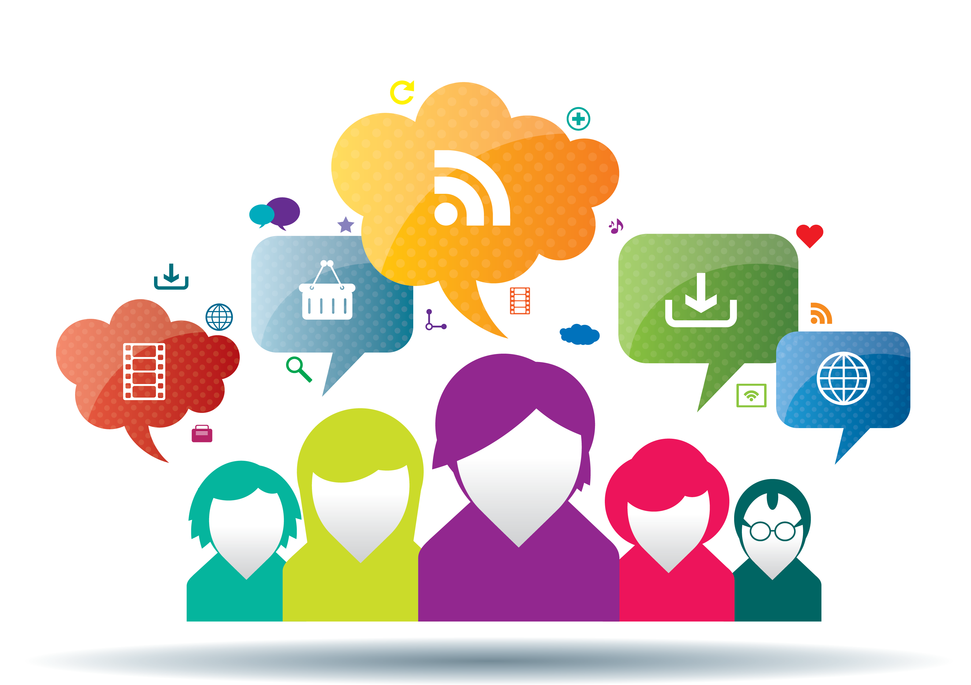 Social media people png. How to maximize your