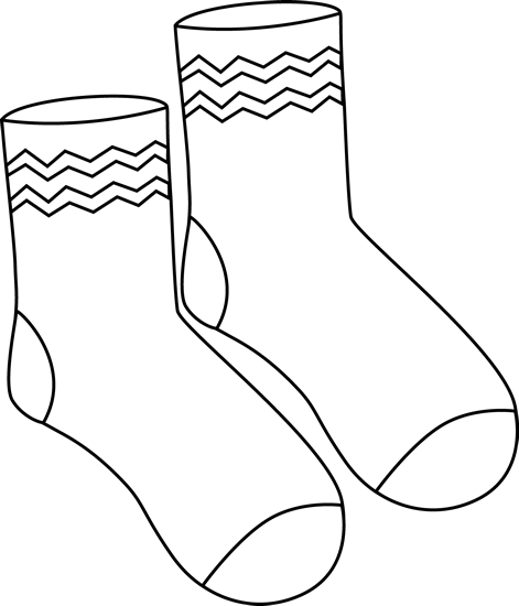 Drawing at getdrawings com. Socks clipart patterned sock svg free stock