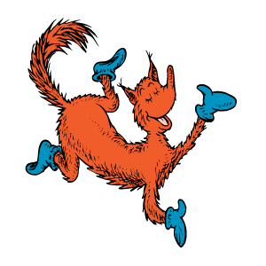 fox in socks png